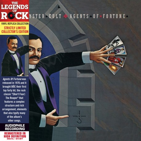 CD - Blue Oyster Cult  - Agents of Fortune