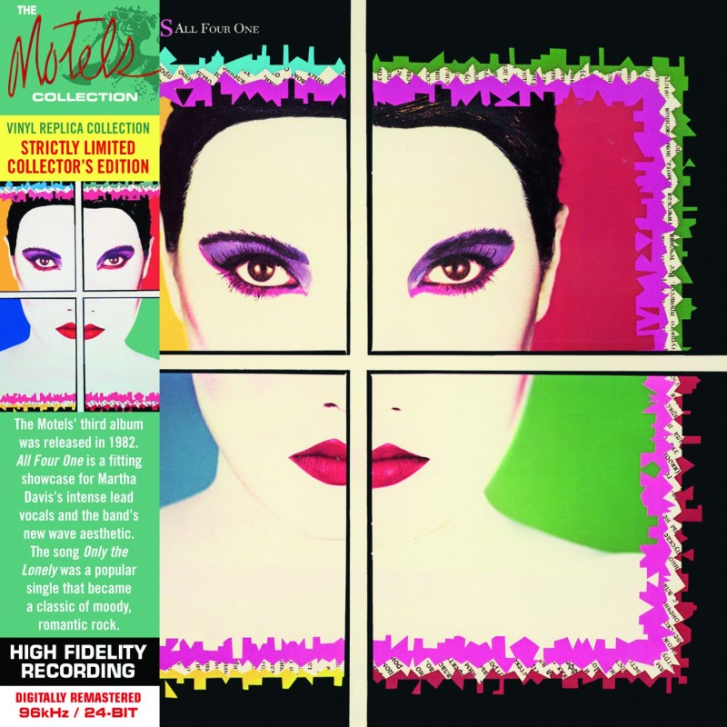 CD - The Motels - All Four One