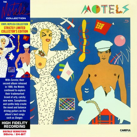 CD - The Motels - Careful