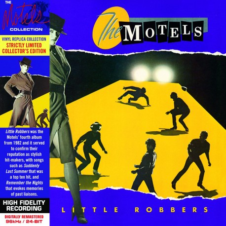 CD - The Motels - Little Robbers