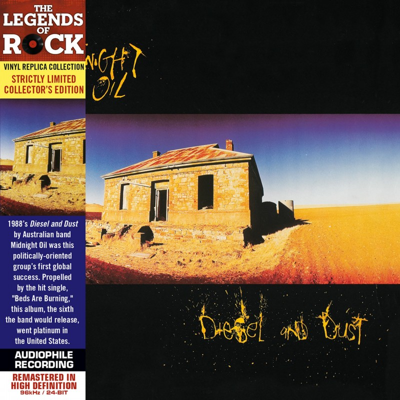 CD - Midnight Oil - Diesel And Dust