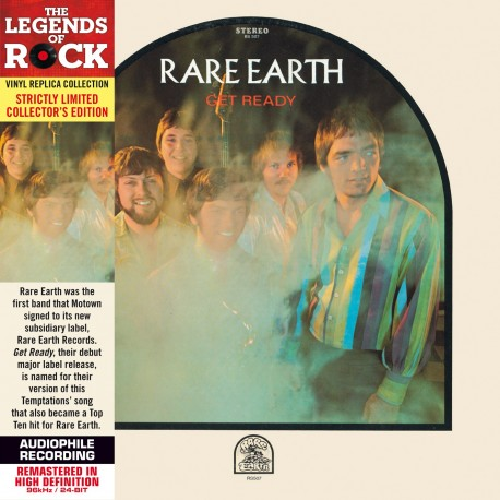 CD - Rare Earth - Get Ready