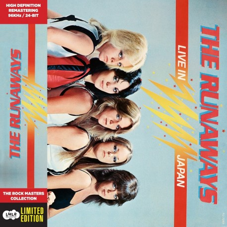 CD - The Runaways - Live In Japan