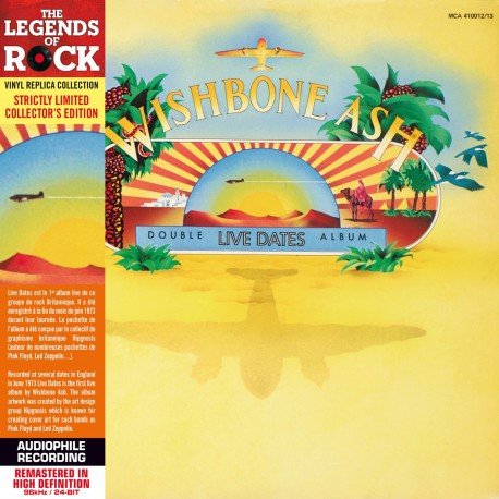 CD - Wishbone Ash - Live Dates