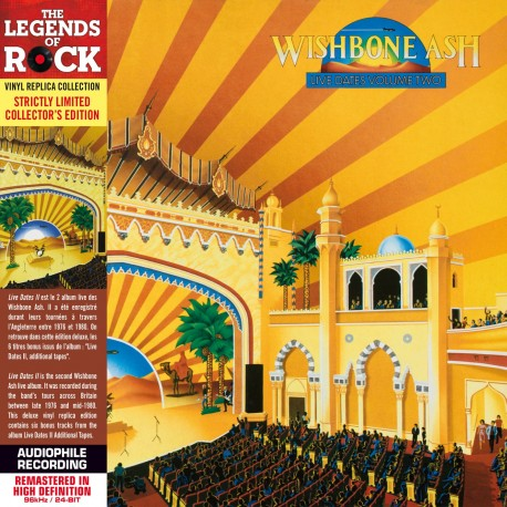 CD - Wishbone Ash - Live Dates II