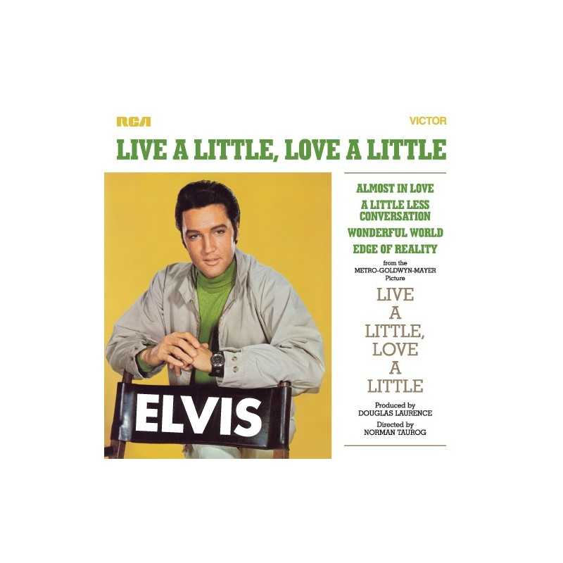 LIVE A LITTLE, LOVE A LITTLE (1 CD)
