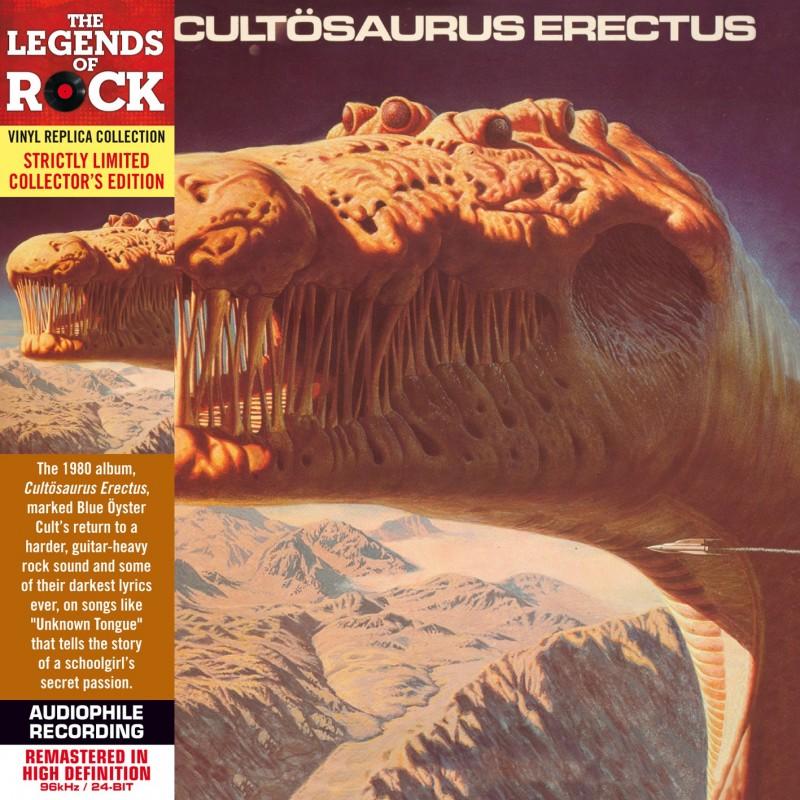 CD - Blue Oyster Cult - Cultosaurus Erectus