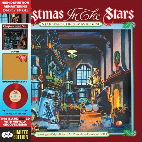 Star Wars Christmas Album... Christmas In The Stars