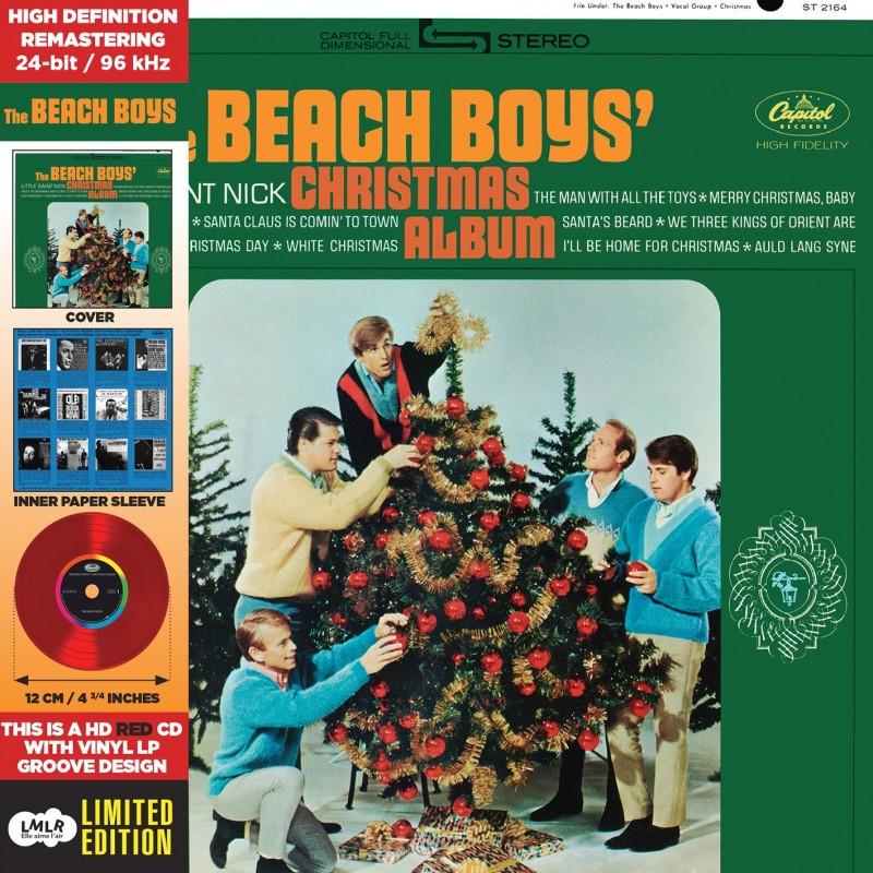 CD - The Beach Boys - Christmas Albums