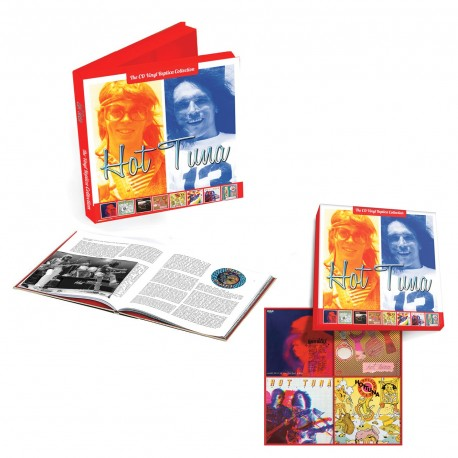Hot Tuna - The CD Vinyl Replica Collection Boxset