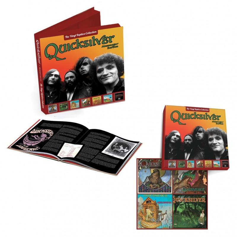Quicksilver Messenger Service - The CD Vinyl Replica Collection Boxset