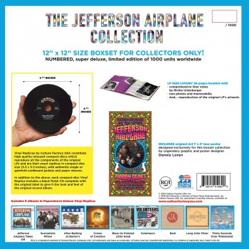 Jefferson Airplane - The CD Vinyl Replica Collection Boxset