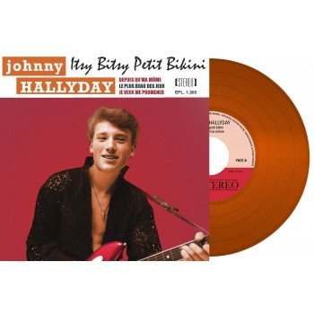 Johnny Hallyday & Sylvie Vartan - 45 Tours - A Plein Coeur