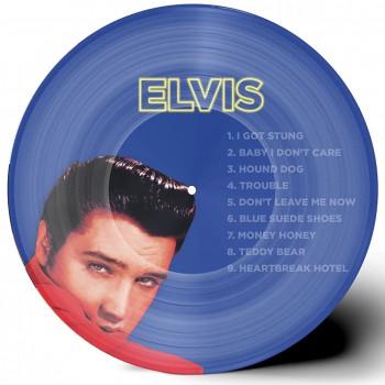 Elvis / Johnny Bleu - 33 Tours - Quand Johnny Reprend Elvis (Picture-Disc) - 2ème Édition