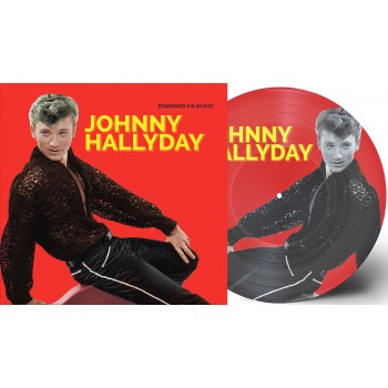 Johnny Hallyday - 33 Tours - J'étais Fou (Picture-Disc Rouge)