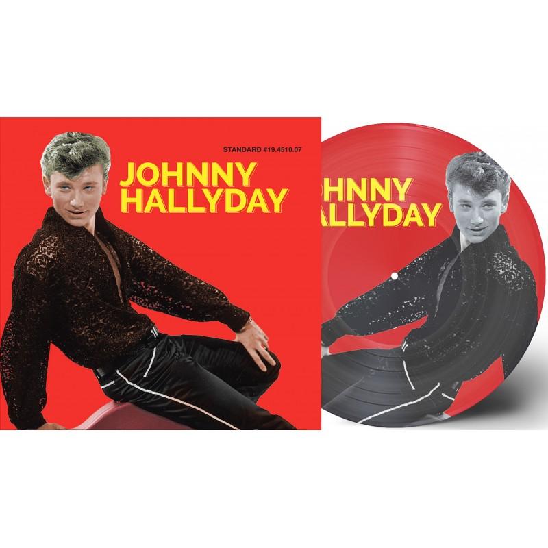 Johnny Hallyday - 33 Tours - J'étais Fou (Picture-Disc Rouge)