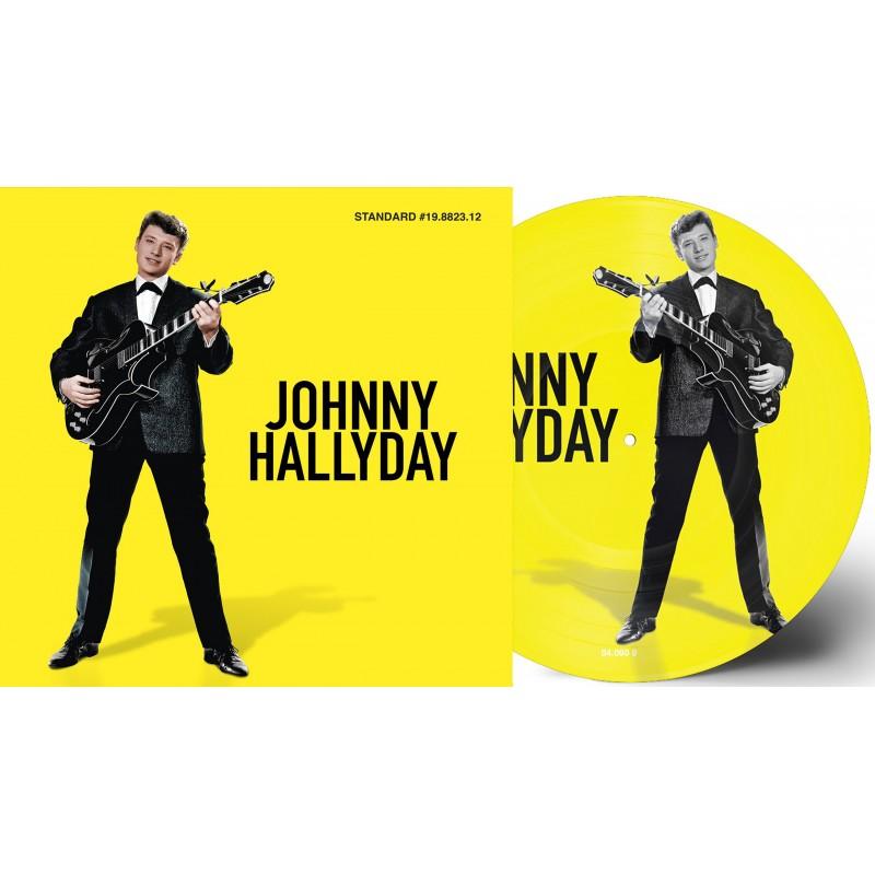 33 Tours - Johnny Hallyday - Le Plus Beau Des Jeux - Picture Disc (Vinyle)