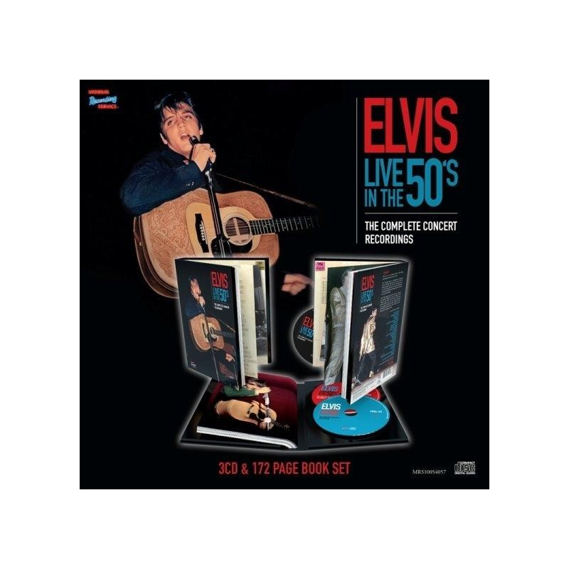 ELVIS LIVE IN THE 50