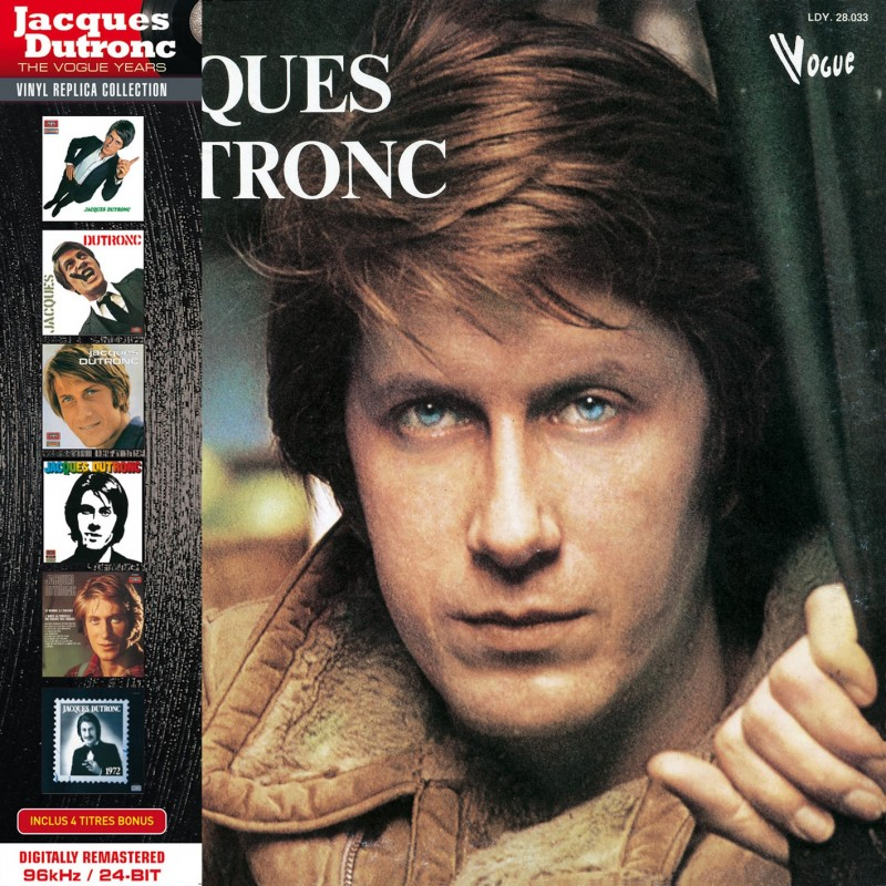 Jacques Dutronc - 7ème Album (1975) - CD Vinyl Replica