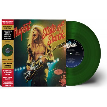 33 Tours - Ted Nugent - State Of Shock (Vinyle)