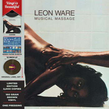 Leon Ware - 33 Tours - Musical Massage (Vinyle Marron)