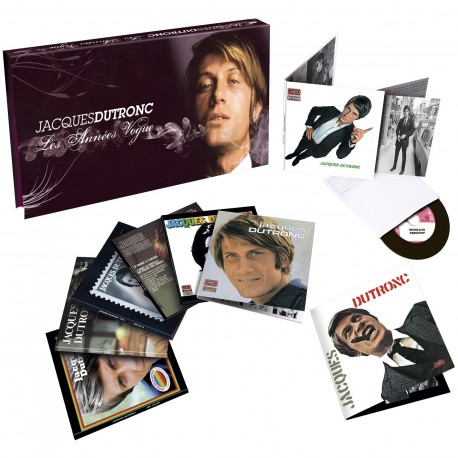 Jacques Dutronc - Les Années Vogue (Coffret 8 CD Vinyl Replica)