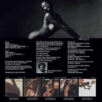 Ohio Players - 33 Tours - Skin Tight (Vinyle Marron)