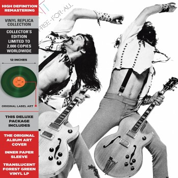 Ted Nugent - 33 Tours - Free For All (Vinyle Vert)