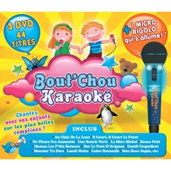 Bout'Chou Karaoké - Édition 2014 : Coffret 3 DVD + 1 Micro Rigolo
