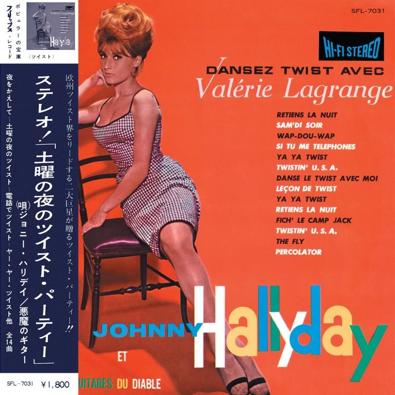 33 Tours - Johnny Hallyday - Dansez le Twist Avec Valérie Lagrange (Vinyle)