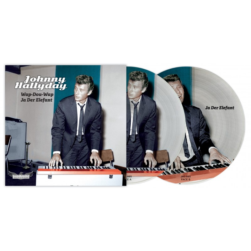 Johnny Hallyday - 45 Tours - Picture Disc N°02 (Version Française/Version Etrangère)