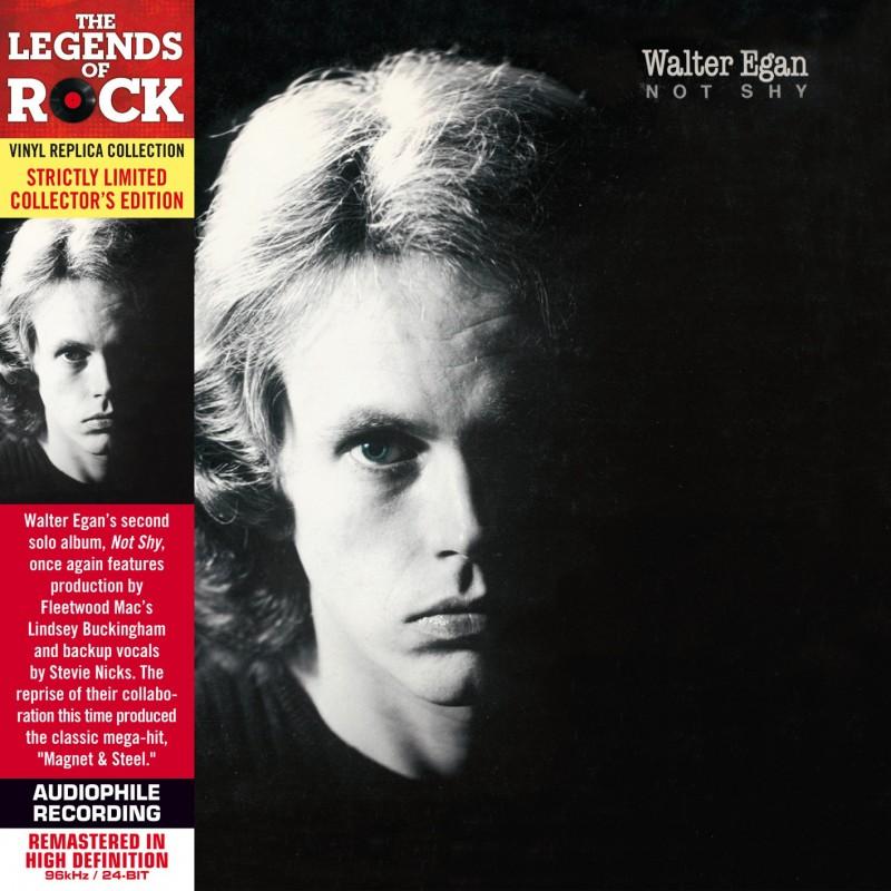 CD - Walter Egan - Not Shy