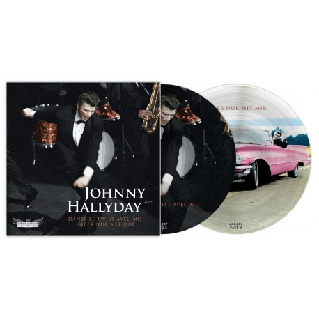 Johnny Hallyday - 45 Tours - Picture Disc N°04 (Version Française/Version Etrangère)