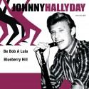 Johnny Hallyday - 45 Tours - Be Bob A Lula - EP Pochette Danoise (Vinyle Violet)