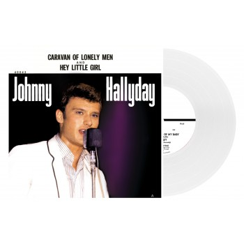45 Tours - Johnny Hallyday - Caravan Of Lonely Men - EP Pochette Américaine (Vinyle 7'')