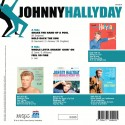 Johnny Hallyday - 45 Tours - Shake The Hand Of a Fool - EP Pochette Danoise (Vinyle Bleu)