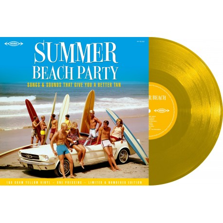 Various - 33 Tours - Summer Beach Party (Vinyle Jaune)