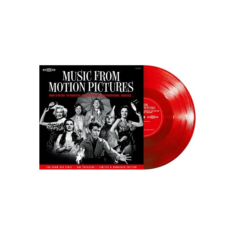 Various - 33 Tours - Music From Motion Pictures (Vinyle Rouge)