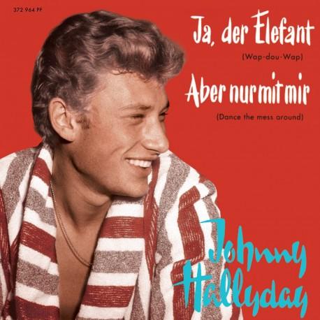 Johnny Hallyday - Ja, Der Elefant - EP Pochette Allemande