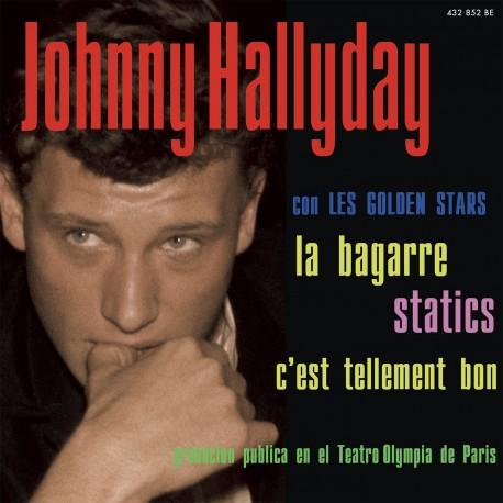 Johnny Hallyday - La Bagarre - EP Pochette Espagnole