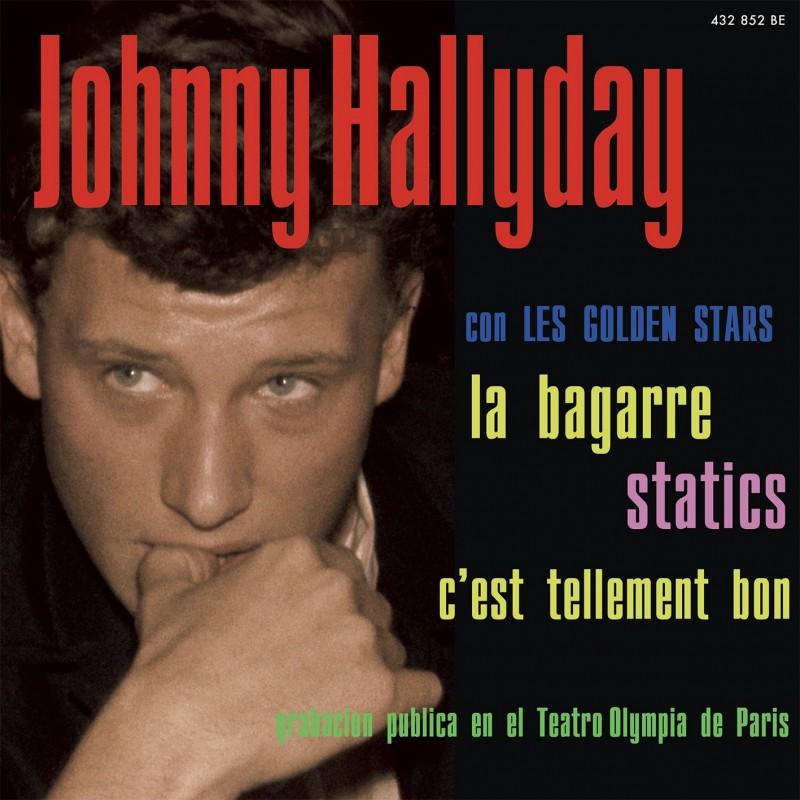 Johnny Hallyday La Bagarre Ep Pochette Espagnole Cd