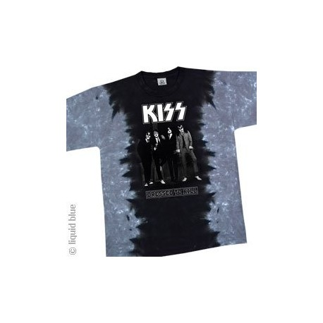 T -Shirt Kiss - Dressed To Kill - Homme - Medium - Import Direct USA