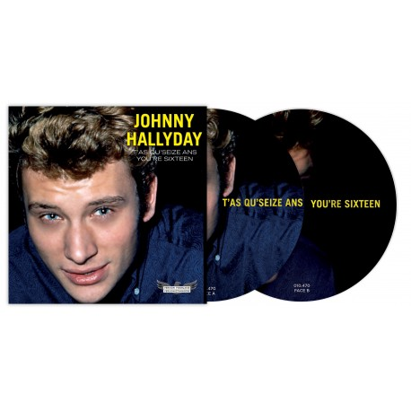 Johnny Hallyday - 45 Tours - Picture Disc N°06 (Version Française/Version Etrangère)