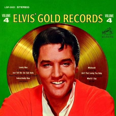 ELVIS GOLDEN  RECORDS VOLUME 4