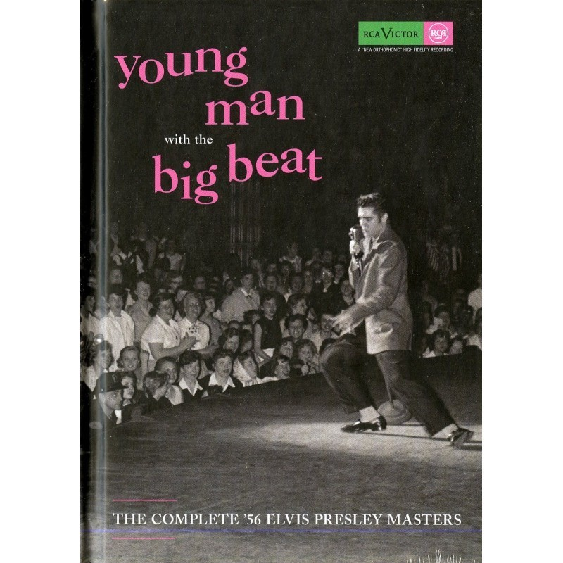 COFFRET LIVRE YOUNG MAN WITH THE BIG BEAT