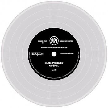 Presley, Elvis - 45 Tours - The Signature Collection N°07 - Gospel (Vinyle Transparent)