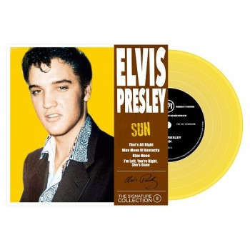 ELVIS PRESLEY- 45 Tours - The Signature Collection N°08 - Sun (Vinyle Jaune)
