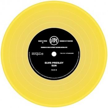 Presley, Elvis - 45 Tours - The Signature Collection N°08 - Sun (Vinyle Jaune)