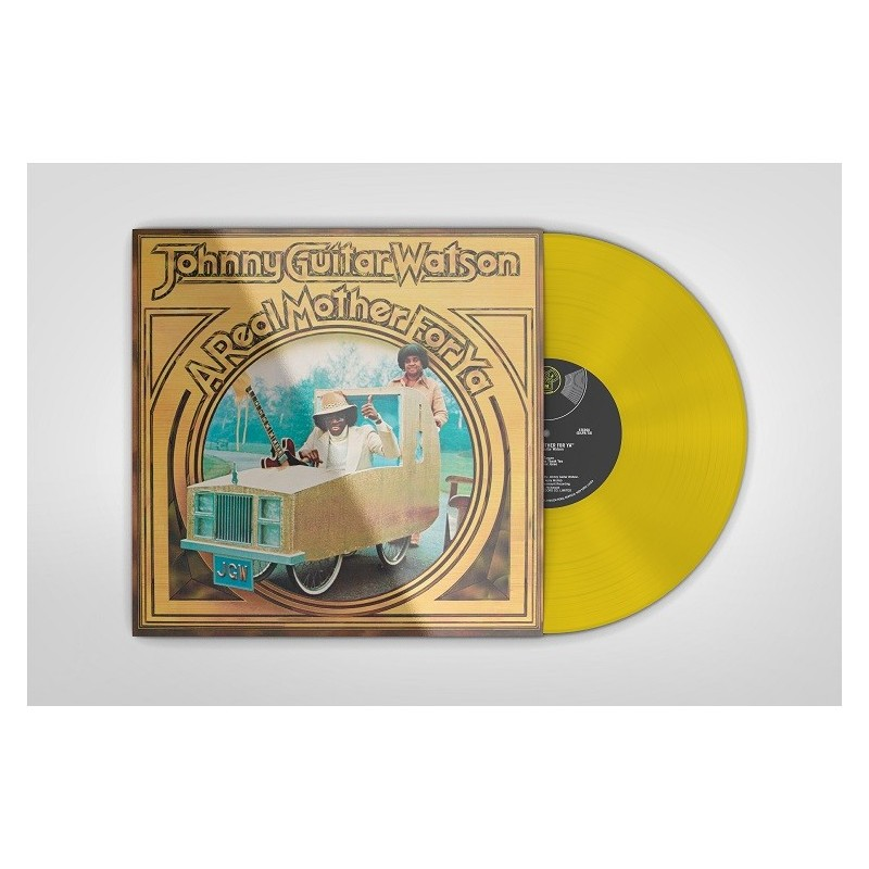 """Watson, Johnny """"Guitar"""" - 33 Tours - A Real Mother For Ya (Vinyle Jaune)"""