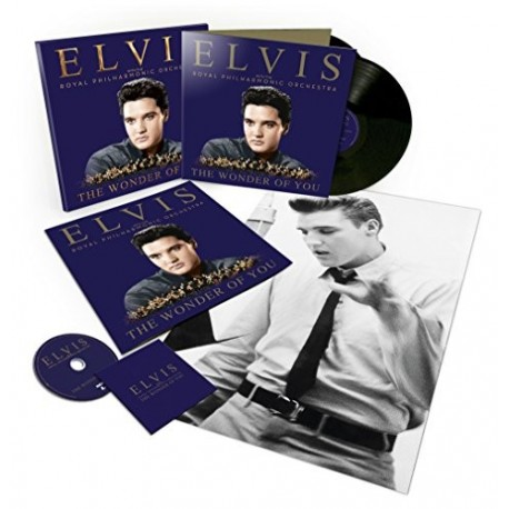 ELVIS COFFRET COLLECTOR THE WONDER OF YOU THE PHILARMONIC ORCHESTRA